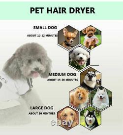 Powerful 2800W Dog Pet Grooming Hair Dryer Professional Hairdryer Blaster UK