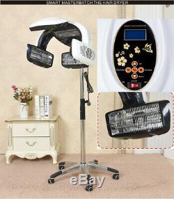 Pro Digital Hair Processor Professional Infrared Hair Dryer Timer Salon Heater