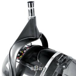 Professional Black Salon Hair Hood Dryer Wall Mounted Hairdresser Styling Dryer