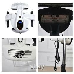 Professional Infrared Hair Dryer Processor Heater Rolling Wheels Salon Digital