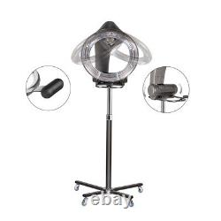 Professional Orbiting Rolling Infrared Stand Hair Dryer Coloring Processor Salon