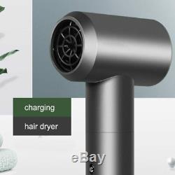 Professional Portable Intelligent Wireless Hair Dryer Smart Cordless 12-Mode USB