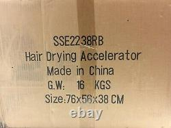 Professional SSE2238RB Halo Orbiting Infrared Hair Color Processor Dryer Gray