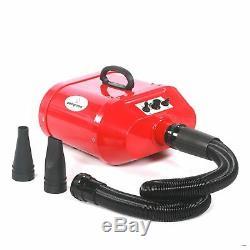 Professional double motor dog pet grooming blaster dryer heater hairdryer
