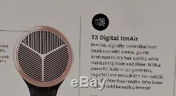 R T3'Cura' Black Rose Professional Hair Dryer Model #76821
