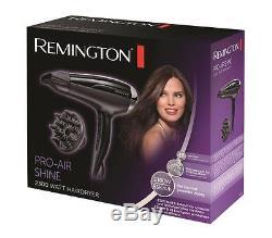 Remington D5215 Pro-air Shine Powerful Hair Dryer, 3 Years Guarantee New