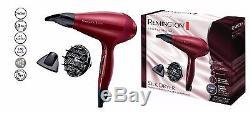 Remington Professional Silk Hair Straightener & Silk Ionic Hair Dryer Burgundy