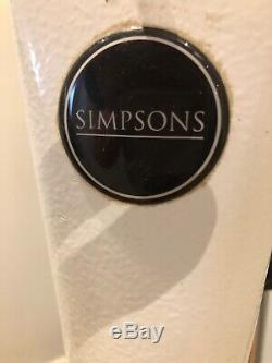 Simpsons Professional Dog Hair Finishing Stand Dryer, White pre owned
