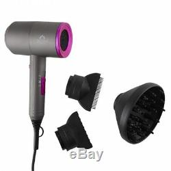 Sutra Blow Dryer Accelerator 2000 with Diffuser & 2 Styling Nozzles 3 Heat Levels
