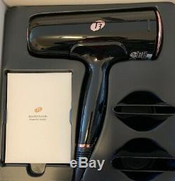 T3 Cura Luxe Professional Ionic Hair Dryer (Black & Rose Gold)
