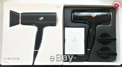 T3 Cura Luxe Professional Ionic Hair Dryer with Auto Pause Sensor Black/Rose Gold