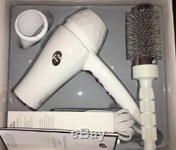 T3 FEATHERWEIGHT LUXE 2i HAIR DRYER ION GENERATOR 2 SPEED3 tempWhiteRose