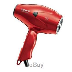TAIFF Compacto 2000W Hair Dryer, Red