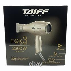 TAIFF Hair Dryer FOX 3 PROFESIONAL 2200 WATT
