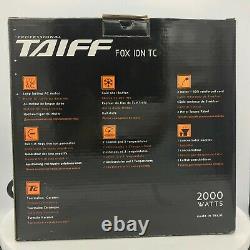 TAIFF Hair Dryer FOX ION TC PROFESIONAL 2000 WATT