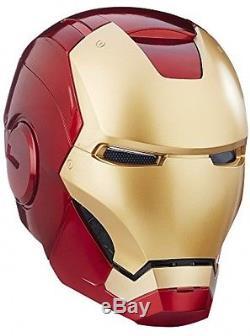 The Avengers Marvel Legends Full Scale Iron Man Electronic Helmet
