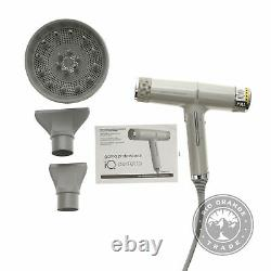 USED GAMA Italy Professional Powerful Pro Salon Hair Dryer IQ Perfetto in Gray