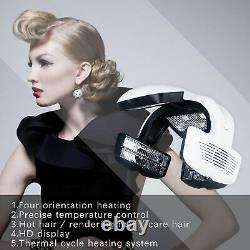 Used Timer Infrared Hair Dryer Processor Professional Hair Salon Dyeing Heater