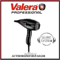 Valera Swiss Silent Light Ionic Rotocord SX6500 Black Blow Hair Dryer